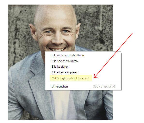 So funktioniert die Bildersuche im Chrome