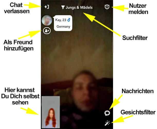 Funktionen der Holla-App