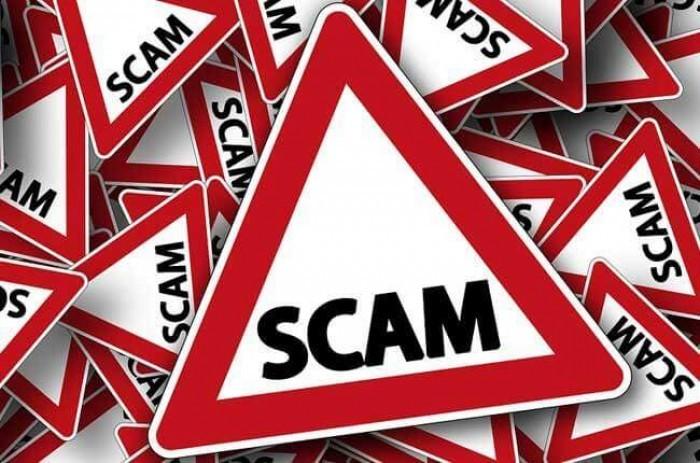 Warnzeichen für Scam